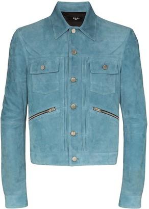 Amiri Wrangler shirt jacket