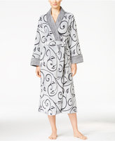 Charter Club Embossed Scroll Long Robe, Only at Macy's