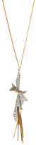 Alexis Bittar Crystal Encrusted Origami Bow Pendant Necklace