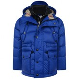 Timberland Boys Blue Down Padded Petter Coat