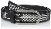 Calvin Klein Women's 32-mm Mesh and Leather Belt