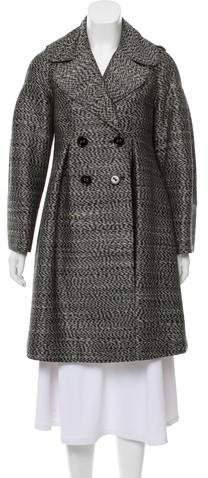 Burberry Wool-Blend Knee-Length Coat