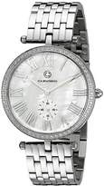 Cabochon Women's 16389-22 Carlita Analog Display Quartz Silver Watch