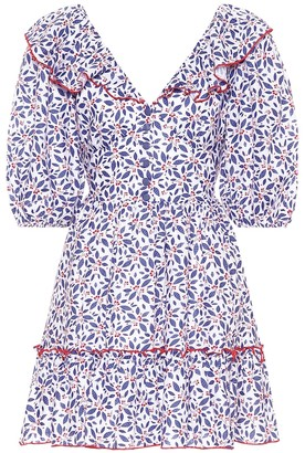 Gã1⁄4l Hã1⁄4rgel Floral linen dress