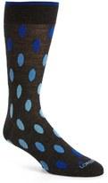 Lorenzo Uomo Ovals Merino Wool Blend Socks (3 for $30)