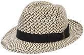 Borsalino Ventilato Two Tone Panama Hat