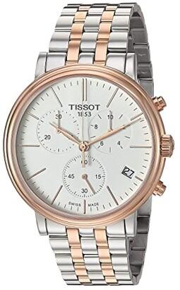Tissot Carson Premium Chronograph - T1224172201100 (Two-Tone) Watches