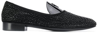 Giuseppe Zanotti David Flash loafers