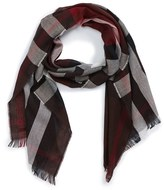 Burberry Men's Check Wool & Cashmere Scarf