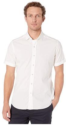 Robert Graham King Button-Up Shirt (White) Men's Clothing