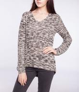 Point Zero Backstitch Detail Sweater