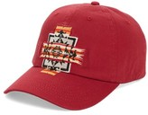 Pendleton Men's Embroidered Ball Cap - Red