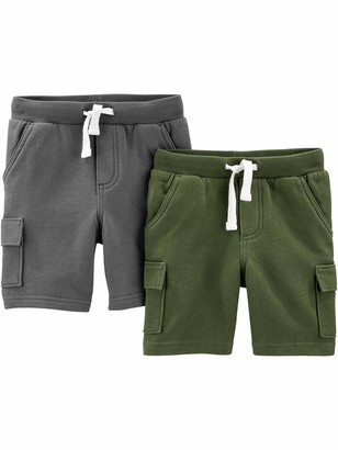 Simple Joys by Carter's 3-pack Knit Shorts Navy