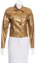 Lucien Pellat-Finet Long Sleeve Casual Jacket