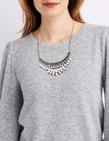 Charlotte Russe Rhinestone Collar Necklace