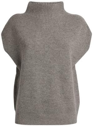 Peserico Virgin Wool-Blend Funnel Neck Sweater