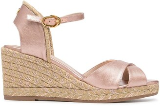 Stuart Weitzman Mirele wedge sandals