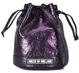 House of Holland Women's Cuki Pack Mini Bucket Bag Purple