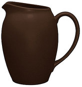 Noritake Colorwave Chocolate Coupe Matte Stoneware Pitcher