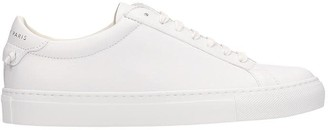Givenchy Urban Street In White Leather Sneakers