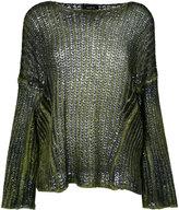 Avant Toi chunky knit jumper