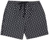 French Connection Indy Ikat Cross Stretch Shorts