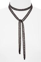Chan Luu Women's Beaded Chiffon Tie Necklace
