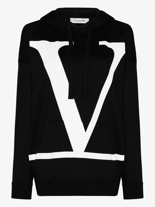 Valentino VLOGO print oversized hoodie