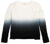 Design History Girls' Dip-Dyed Sweater - Big Kid
