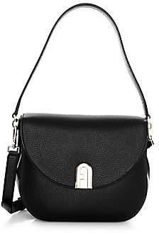 Furla Women's Leather Saddle Bag
