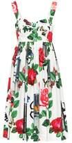 Dolce & Gabbana Cotton poplin sun dress