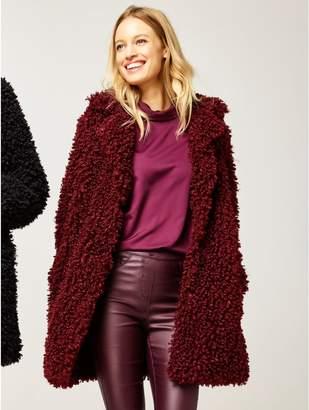 M&Co Faux fur coat