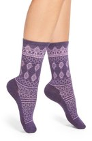 Smartwool Lace Pattern Crew Socks