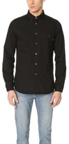 Paul Smith Long Sleeve Tailored Fit Denim Shirt