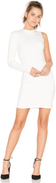 Twenty Stretch One Sleeve Dress in White. - size XS (also in )