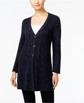 Style&Co. Style & Co. Ribbed V-Neck Cardigan, Only at Macy's