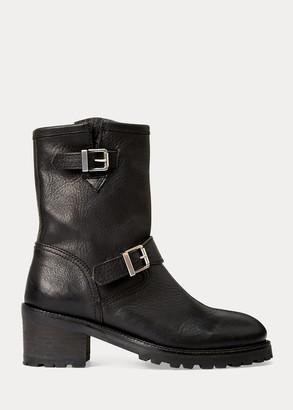 Ralph Lauren Payge Vachetta Leather Boot
