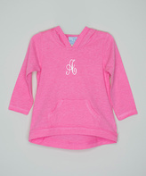 Princess Linens Pink Monogram Pocket Tee - Infant, Toddler & Girls