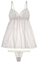 Hanky Panky Dauphine Babydoll and G-String Set