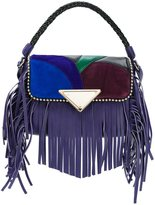 Sara Battaglia 'Amber' shoulder bag - women - Calf Leather/Polyester - One Size