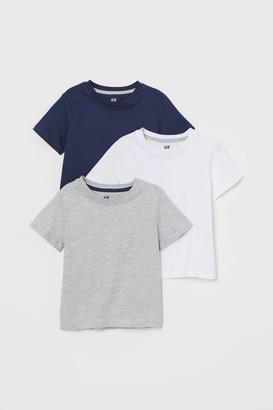 H&M 3-pack T-shirts - Gray