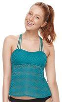 Open-Back Crochet Tankini Top