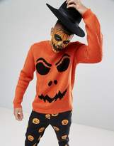 Asos Halloween Pumpkin Jumper