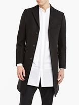 Acne Studios Black Garret Melton Coat