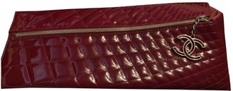 Chanel Red Patent leather Clutch bags