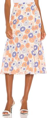 Kenzo Smock Midi Skirt