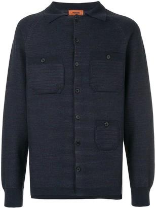 Missoni button front shirt cardigan