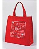 Red Love Valentine Tote Bag