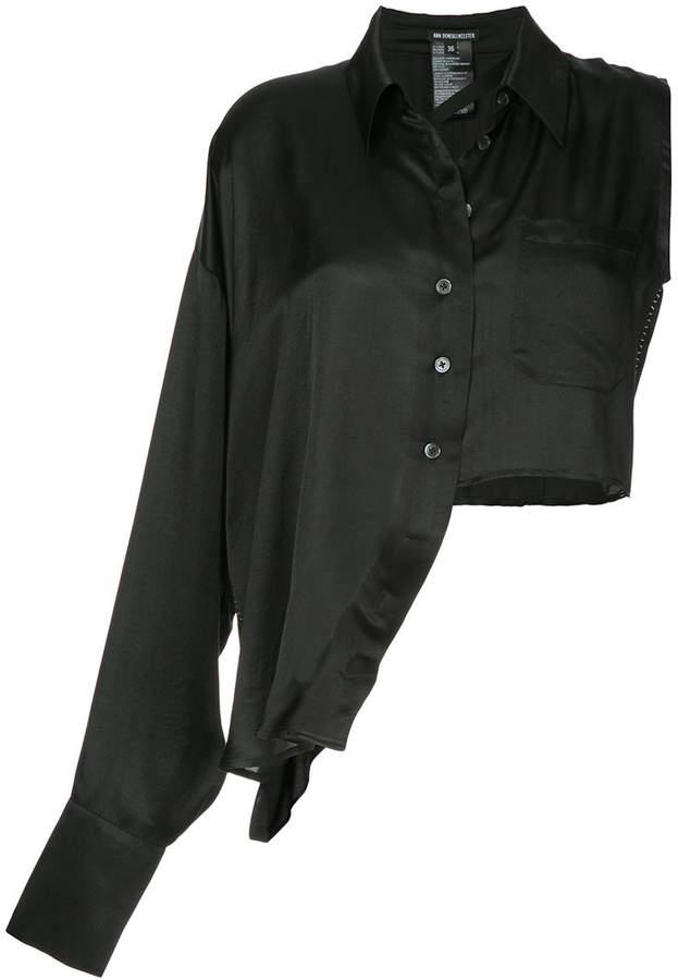 Ann Demeulemeester Nanette asymmetric shirt