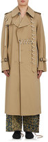 Craig Green Men's Laced Cotton Trench Coat